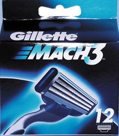 Gillette Mach3 12er Klingen