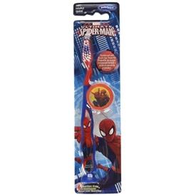 Marvel Handzahnbürste  Spiderman   weiche Borsten - mit Saugfuss