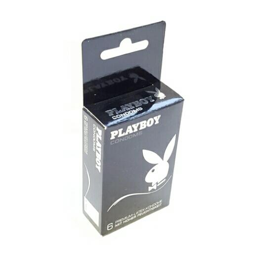 Playboy Kondome Silber Mit hoher Feuchtigkeit