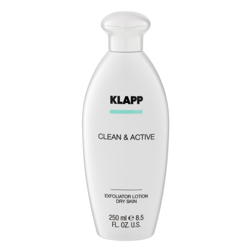 Klapp Kosmetik&nbspClean & Active  Exfoliator Lotion Dry Skin