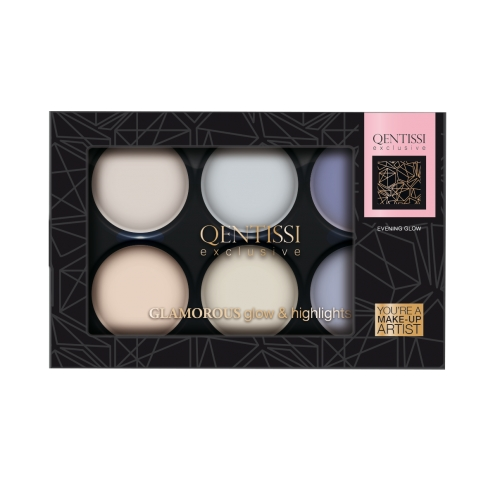 Qentissi&nbsp Make-up Gift Highlight Palette Cool Colors