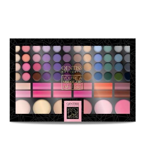 Qentissi&nbsp Make-up Gift Eye Shadow Palette 66 Farben