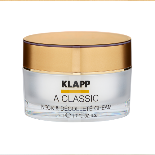 Klapp Kosmetik&nbspVitamin A Classic Neck and Decollete Cream