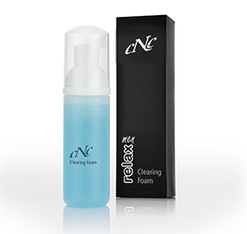 CNC Skincare  men relax Clearing Foam