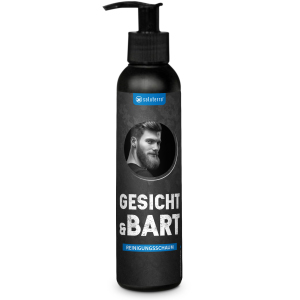 Saluterra For Man Reinigungsschaum Gesicht & Bart