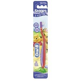 Oral-B Zahnbürste Stage 2: für Kinder von 2 - 4 J.