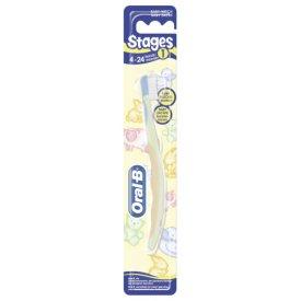 Oral-B Zahnbürste Stage 1: für Kinder von 4 - 24 Mon.