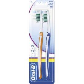 Oral-B Zahnbürste 1-2-3 Classic mittel