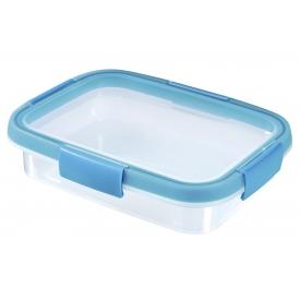 Curver Frischhaltedose Smart Fresh 0,7l rechteckig transparent/hellblau