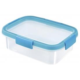 Curver Frischhaltedose Smart Fresh 1l rechteckig transparent/hellblau