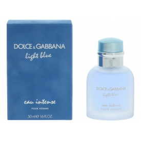 Dolce & Gabbana D&G Light Blue Eau Intense Pour Homme Edp Spray