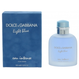Dolce & Gabbana Light Blue Eau Intense Pour Homme Edp Spray