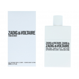 Zadig & Voltaire Zadig & Voltaire  This Is Her Body Lotion