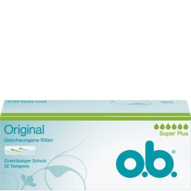 O.B. Tampons Original Super Plus