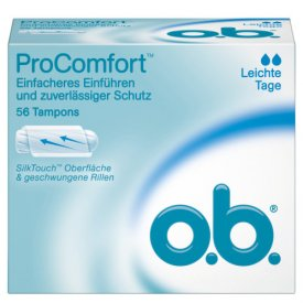 O.B.  Tampons ProComfort Leichte Tage