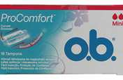 O.B. Tampons Pro Comfort Silk Touch Mini
