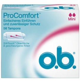 O.B. Tampons ProComfort Mini