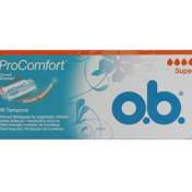 O.B. Tampons Pro Comfort Silk Touch Super