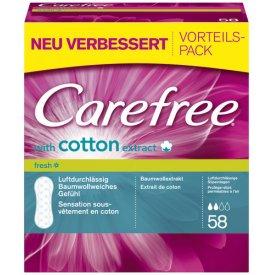 Carefree Damenbinden Cotton Fresh
