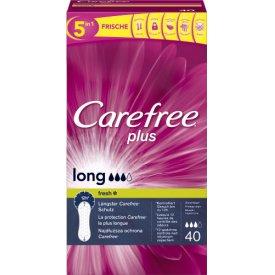 Carefree Slipeinlagen Plus Long Fresh