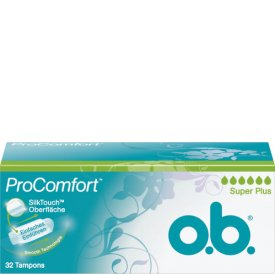 O.B. Tampons ProComfort Silk Touch Oberfläche Super Plus