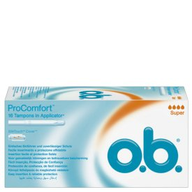 O.B. Tampons ProComfort Super Applicator