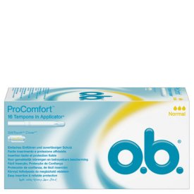 O.B.  Tampons ProComfort Normal Applicator