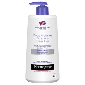 Neutrogena Deep Moisture Bodylotion Sensitive
