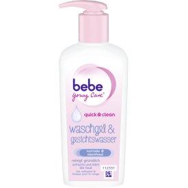 Bebe Young Care Waschgel & Gesichtswasser