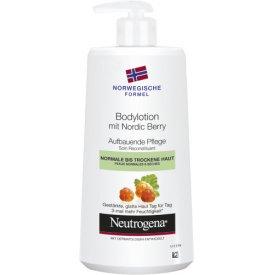 Neutrogena Bodylotion mit Nordic Berry Aufbauende Pflege für normale bis trockene Haut
