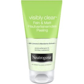 Neutrogena Visibly Clear Shine & Pore mattierendes Peeling