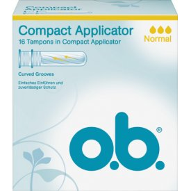 O.B. Tampons ProComfort Normal Applicator