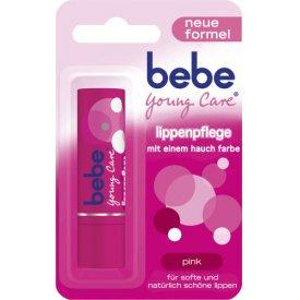 Bebe Young Care Lippenpflegestift pink