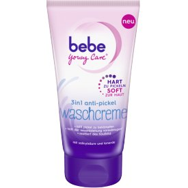Bebe Young Care Anti-Pickel Waschcreme 3 in 1