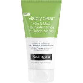Neutrogena visibly clear HautverfeinerndeIn-Dusch-Maske