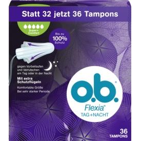 O.B. Tampons Flexia Super Plus