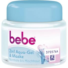 Bebe Tagespflege 2in1 Aqua-Gel & Maske