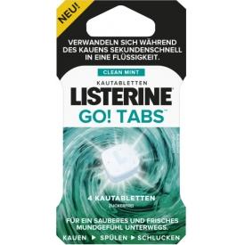 Listerine Kautabletten GO! Tabs