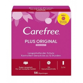 Carefree Carefree Plus Original mit Frischeduft 56 Stück