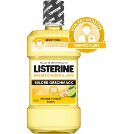 Listerine Fresh Ginger & Lime Milder Geschmack