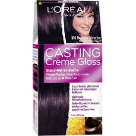 Casting Dauerhafte Haarfarbe Coloration Creme Gloss 316 Dunkle Kirsche