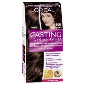 Casting Dauerhafte Haarfarbe Haarfarbe Creme Gloss 500 Hellbraun