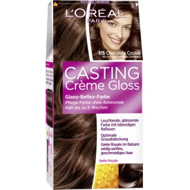 L`Oreal Dauerhafte Haarfabe Glanz-Reflex-Farbe Casting Creme Gloss 515 Chocolate Truffle