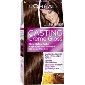 Casting Dauerhafte Haarfarbe Glanz-Reflex-Farbe Creme Gloss 535, Chocolat