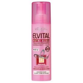 L`Oreal Haarpflege Elvital Pflegespray Nutrigloss