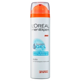 L`Oreal Paris Men Expert Shaving Gel 200ml Hydra Sensitive
