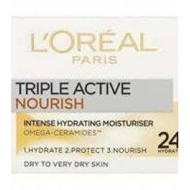 L`Oreal Paris Tagescreme Dreifach Aktiv Trockene Haut