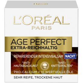 L`Oreal Nachtpflege Age-Perfect Reparierende Intensivpflege Nacht
