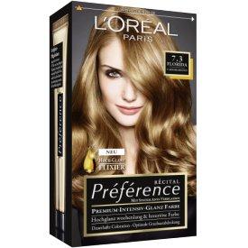 L`Oreal Paris Dauerhafte Haarfabe Coloration Préférence  Caramelblond 7.3
