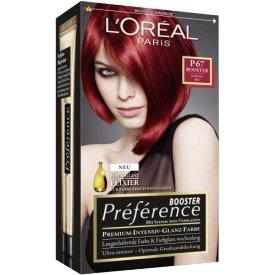 L`Oreal Dauerhafte Haarfabe Coloration Préférence P 67 Intensiv Rot